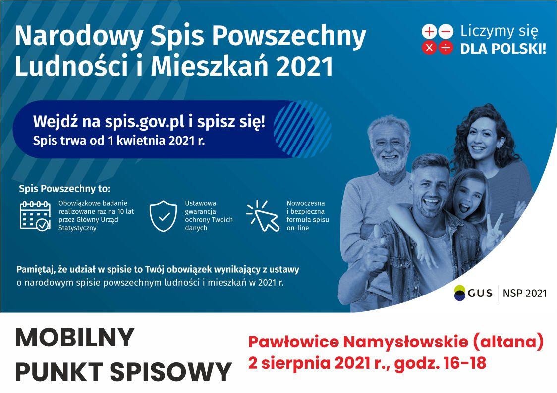 Mobilny punkt spisowy - Pawłowice Namysłowskie.jpeg