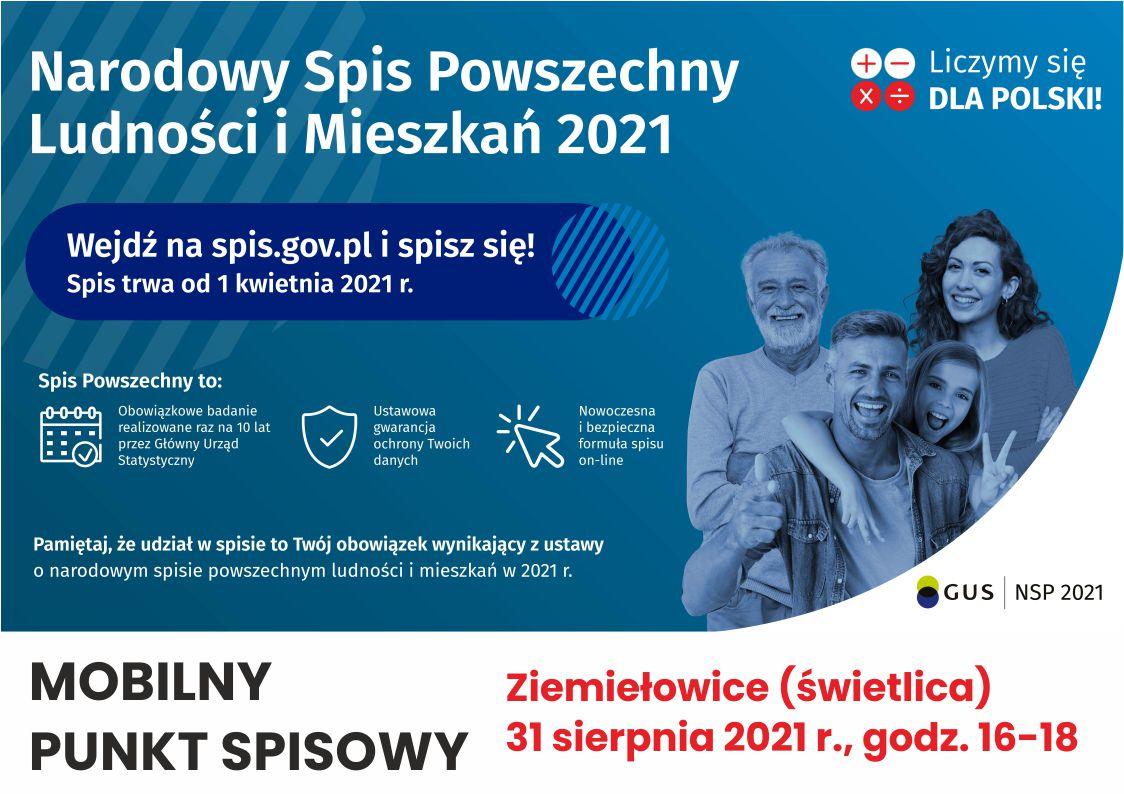 Mobilny punkt spisowy - Ziemiełowice.jpeg