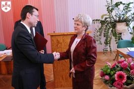 Galeria Zasłużony Obywatel Gminy Namysłów. Krystyna Pacholik