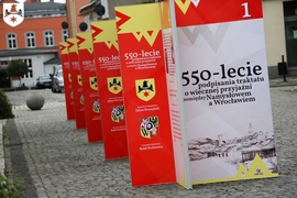 Galeria 550 lecie traktatu o wiecznej przyjaźni. Wystawa Namysłów