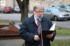 Galeria Odsłonięcie tablicy upamiętniającej prof. Leszka Kuberskiego