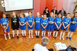 Galeria Drużyna piłkarska Szkoły Podstawowej nr 4