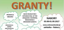 Plakat o przyjmowaniu wniosków o powierzenie grantów - slider.jpeg