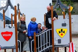 Galeria Otwarcie placu zabaw przy Skwerze prof. Leszka Kuberskiego
