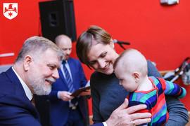 Galeria Powitanie nowo narodzonych Namysłowian. 11 luty 2018.