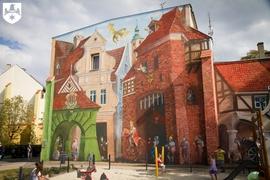 Galeria Odsłonięcie muralu