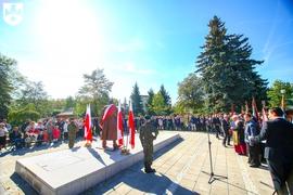 Galeria Uroczystość odsłonięcia pomnika Marszałka Józefa Piłsudskiego