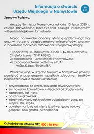 Informacja o otwarciu Urzędu Miejskiego w Namysłowie (10-07-2020).jpeg