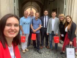 Samorządowcy z Namysłowa z wizytą na Ukrainie 2.jpeg